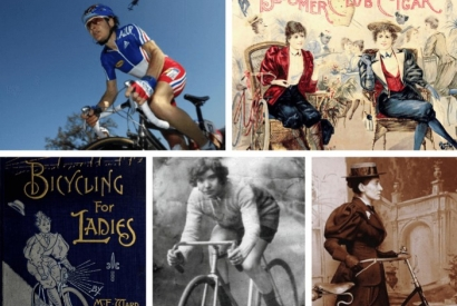 6 women who made their mark on the world by bicycle